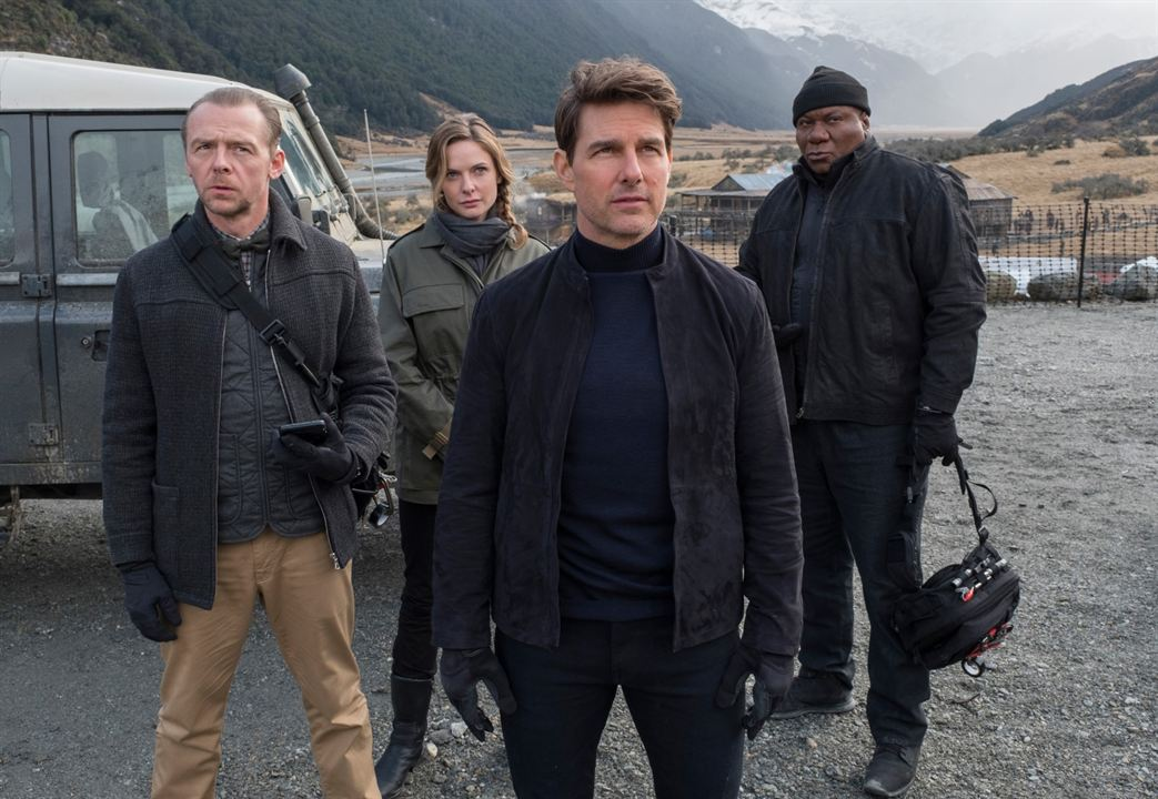 Mission Impossible - Fallout : Photo Rebecca Ferguson, Simon Pegg, Tom Cruise, Ving Rhames