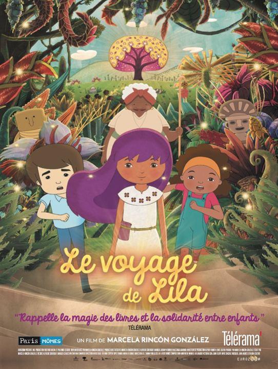 Le Voyage de Lila : Affiche