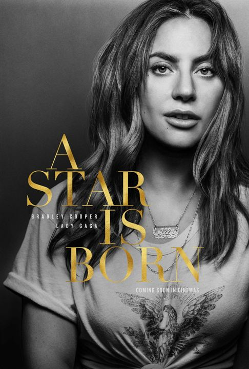 affiche du film a star is born affiche 5 sur 5 allocin. Black Bedroom Furniture Sets. Home Design Ideas