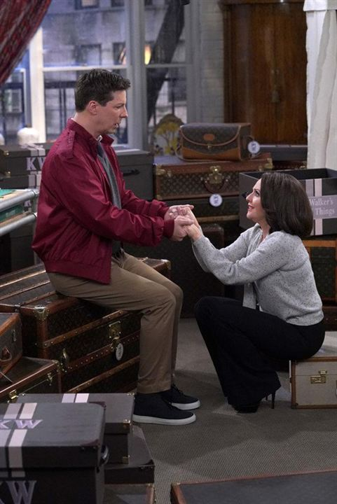 Photo Megan Mullally, Sean Hayes