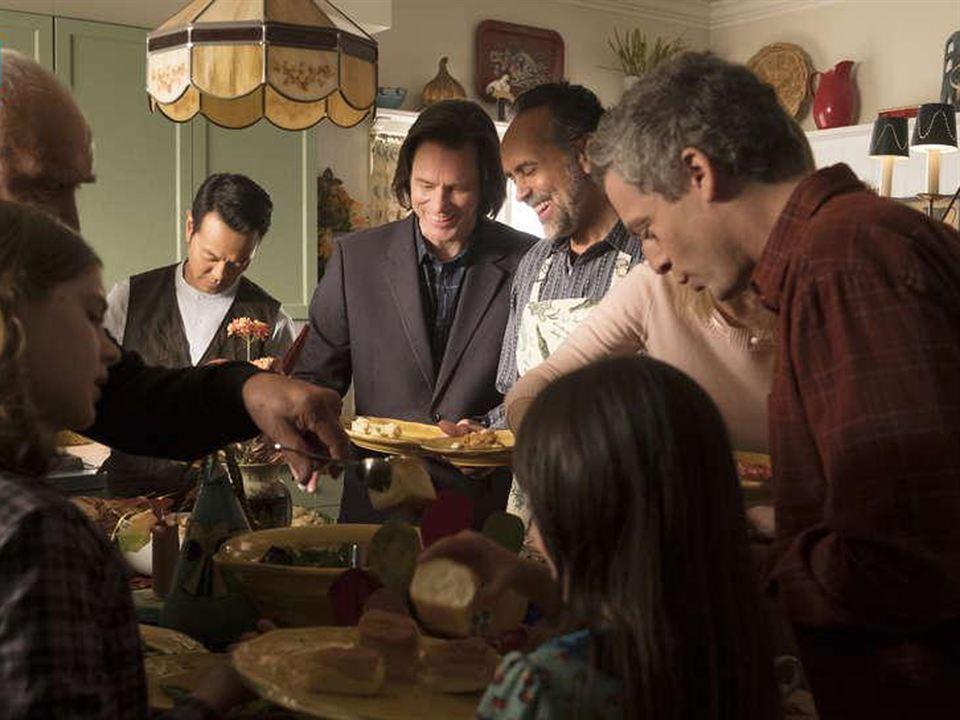 Photo Bernard White, Cole Allen, Frank Langella, Jim Carrey, Justin Kirk