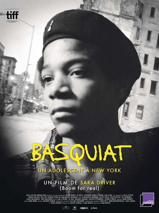 Basquiat, un adolescent à New York : Affiche