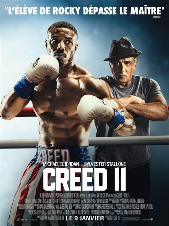 Creed II : Affiche