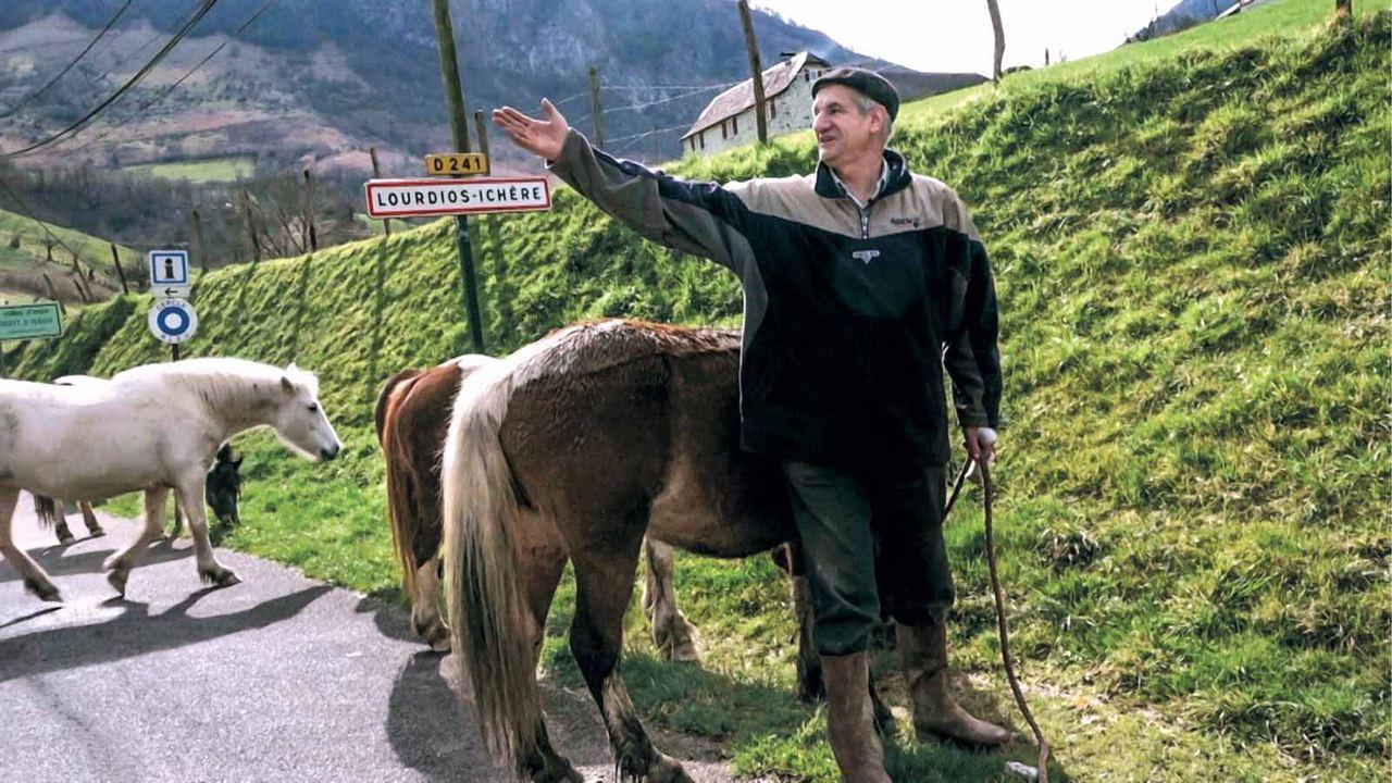 Un berger et deux perchés à l'Elysée ? : Photo Jean Lassalle