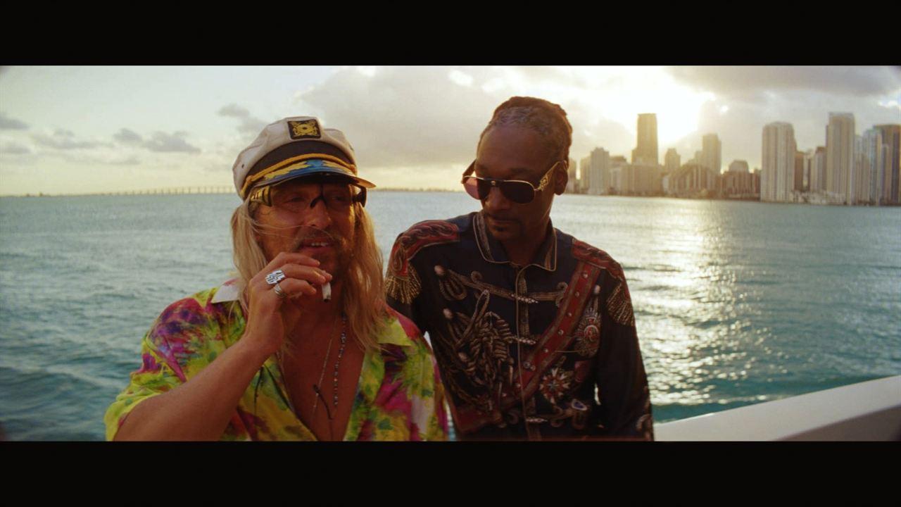 The Beach Bum : Photo Matthew McConaughey, Snoop Dogg