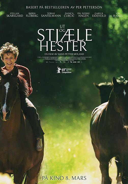Ut og stjæle hester : Affiche