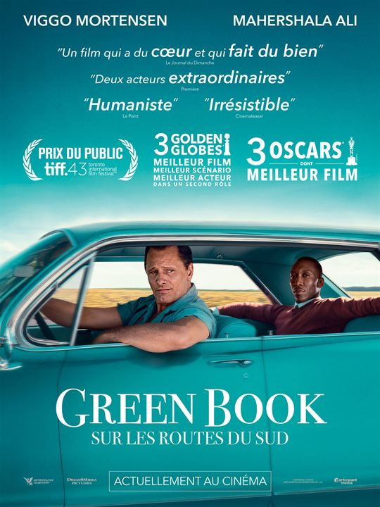 Green Book : Sur les routes du sud : Affiche