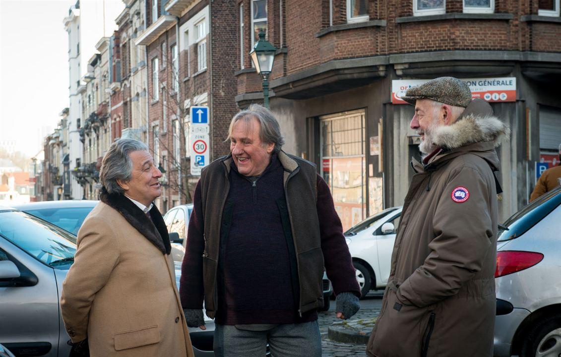 Convoi exceptionnel : Photo Bertrand Blier, Christian Clavier, Gérard Depardieu