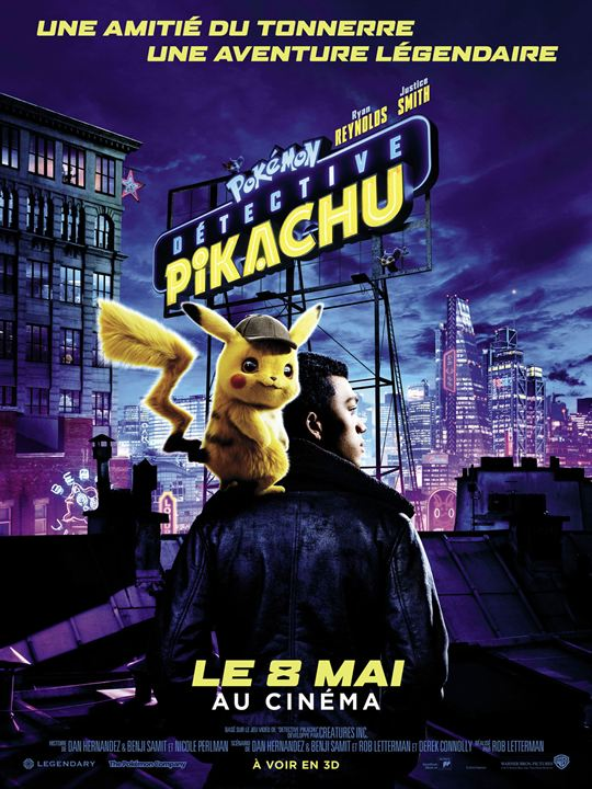 Pokémon Détective Pikachu : Affiche