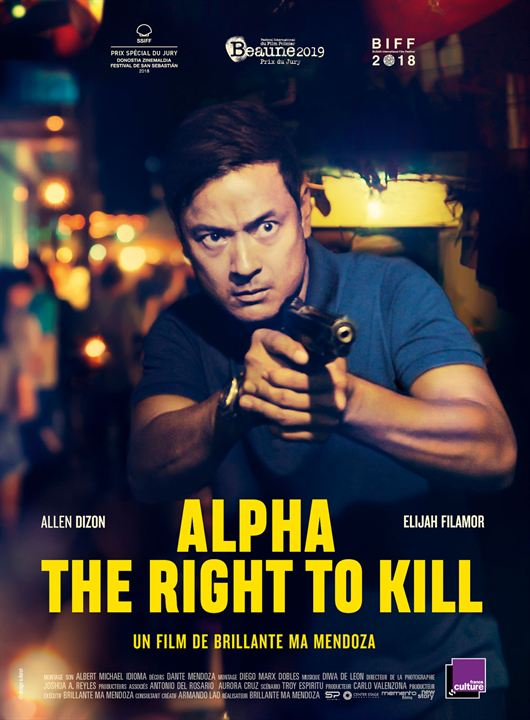 Alpha - The Right to Kill : Affiche