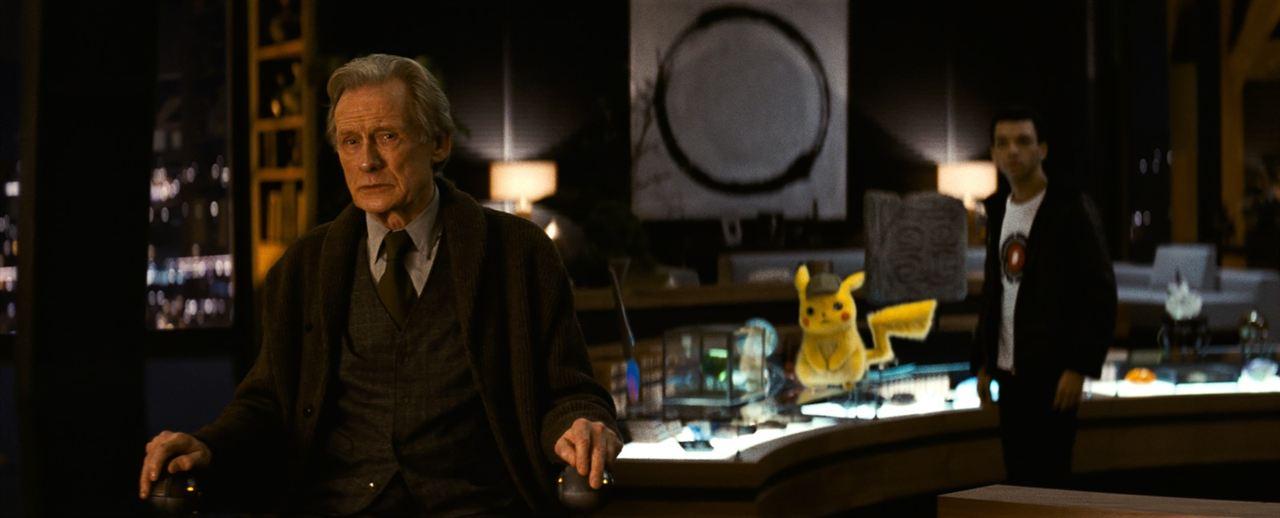 Pokémon Détective Pikachu : Photo Bill Nighy, Justice Smith