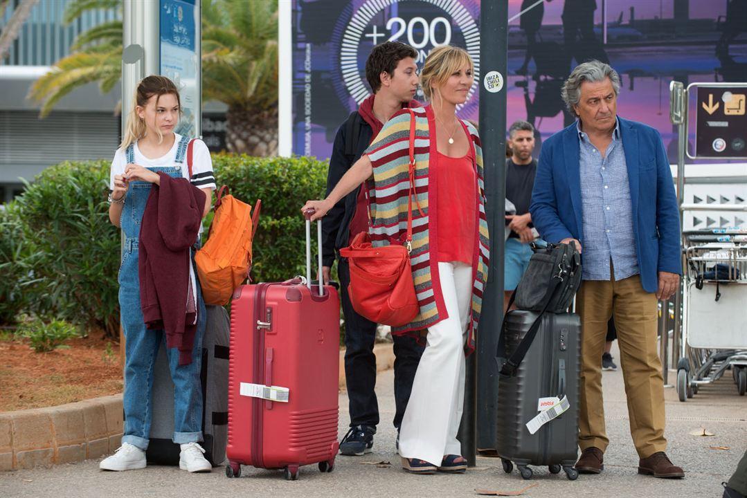 Ibiza : Photo Christian Clavier, Léopold Buchsbaum, Mathilde Seigner