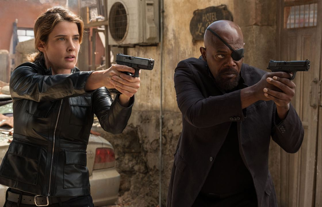 Spider-Man: Far From Home : Photo Cobie Smulders, Samuel L. Jackson