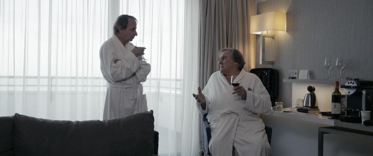 Thalasso : Photo Gérard Depardieu, Michel Houellebecq