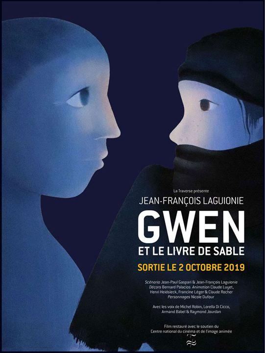 Gwen, le livre de sable : Affiche