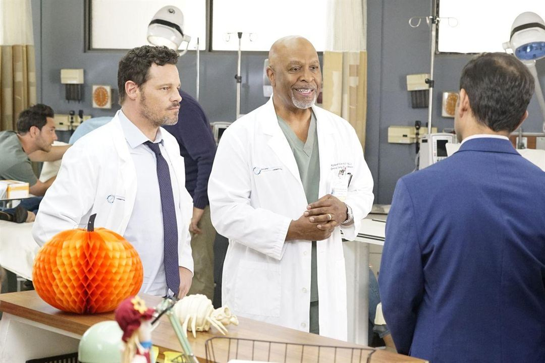 Photo James Pickens Jr., Justin Chambers (I)