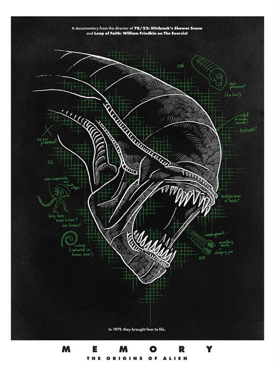 Memory - The Origins of Alien : Affiche