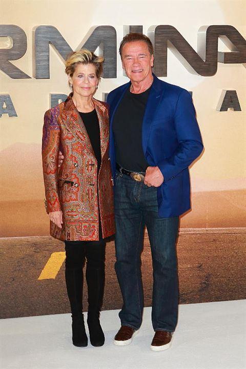 Terminator: Dark Fate : Photo promotionnelle Arnold Schwarzenegger, Linda Hamilton