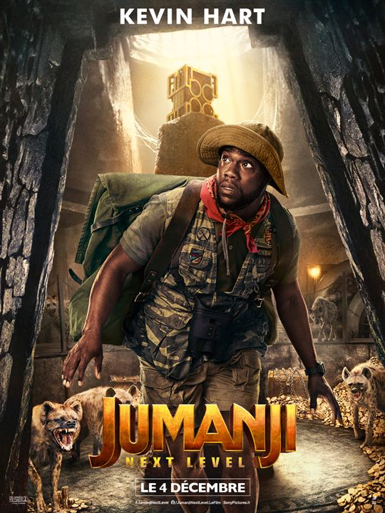Jumanji: next level : Affiche Kevin Hart