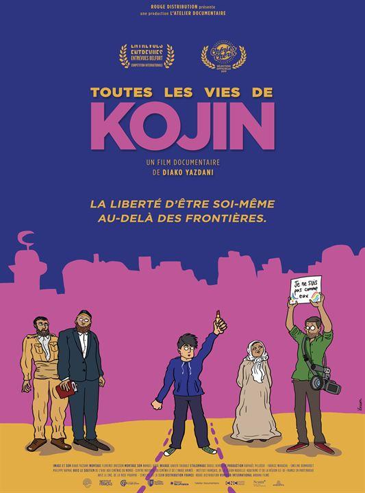 Toutes les vies de Kojin : Affiche