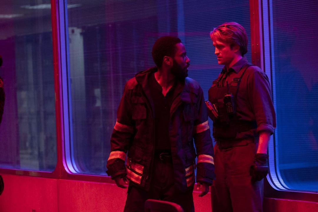 Tenet : Photo John David Washington, Robert Pattinson