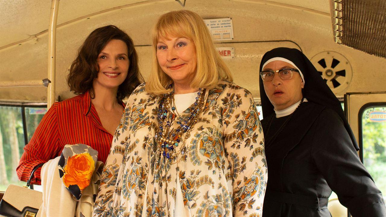 La Bonne épouse : Photo Juliette Binoche, Noémie Lvovsky, Yolande Moreau