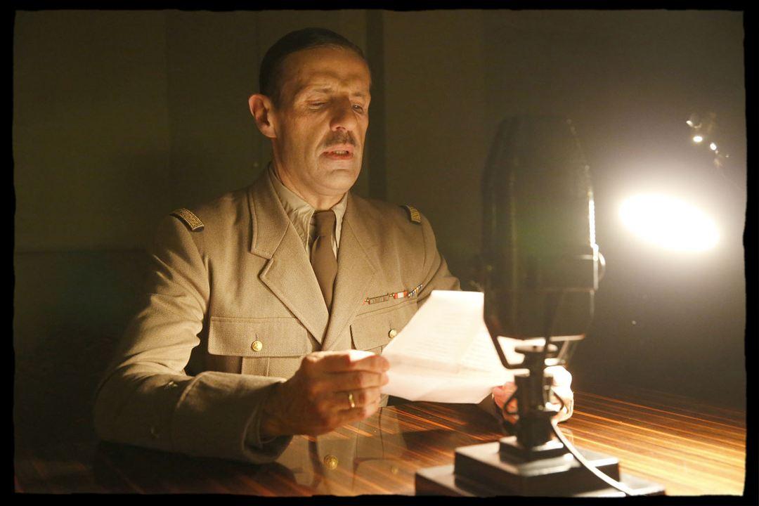 De Gaulle : Photo Lambert Wilson