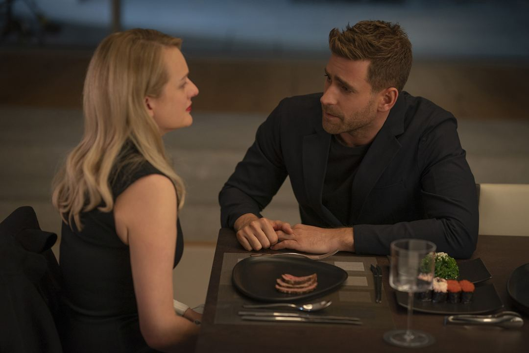 Invisible Man : Photo Elisabeth Moss, Oliver Jackson-Cohen