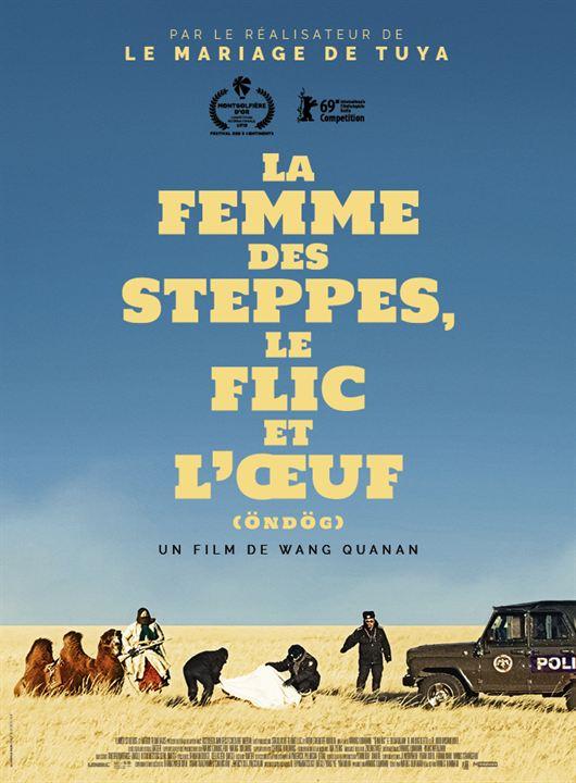 La Femme des steppes, le flic et l'oeuf : Affiche