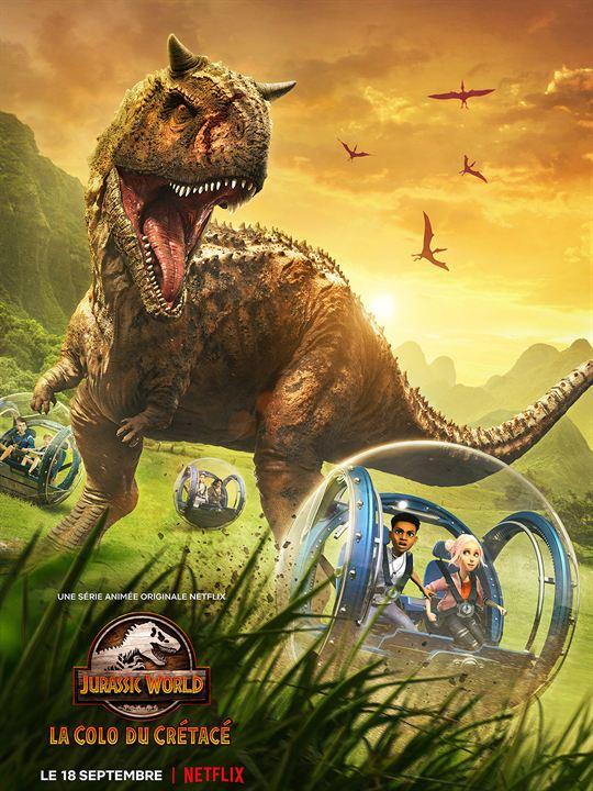 Jurassic World - La Colo du Crétacé : Affiche