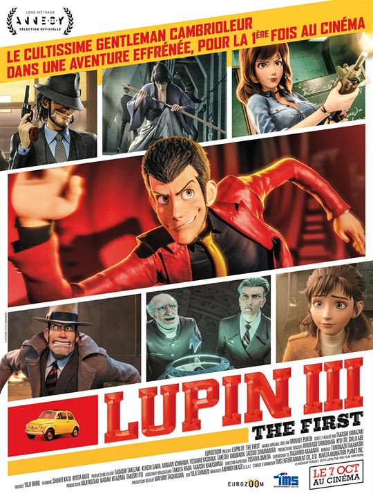 Lupin III: The First : Affiche