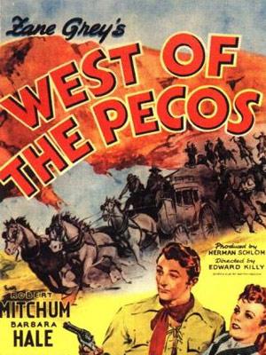 A l'ouest du Pecos : Affiche