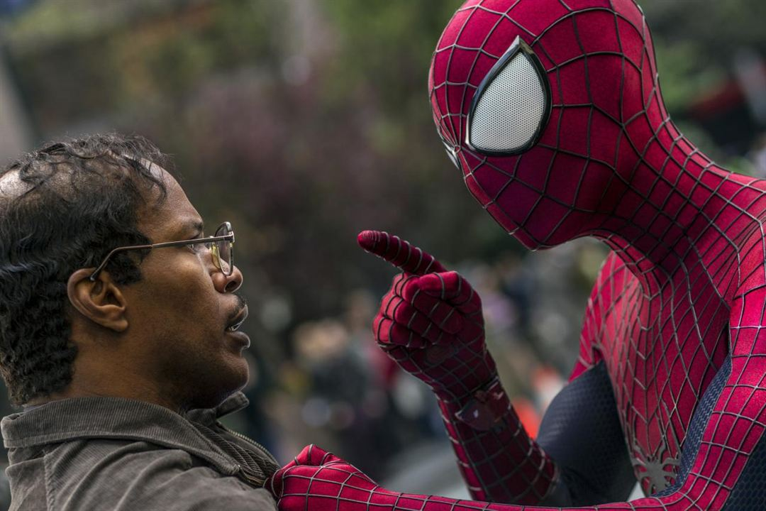 The Amazing Spider-Man : le destin d'un Héros : Photo Andrew Garfield, Jamie Foxx
