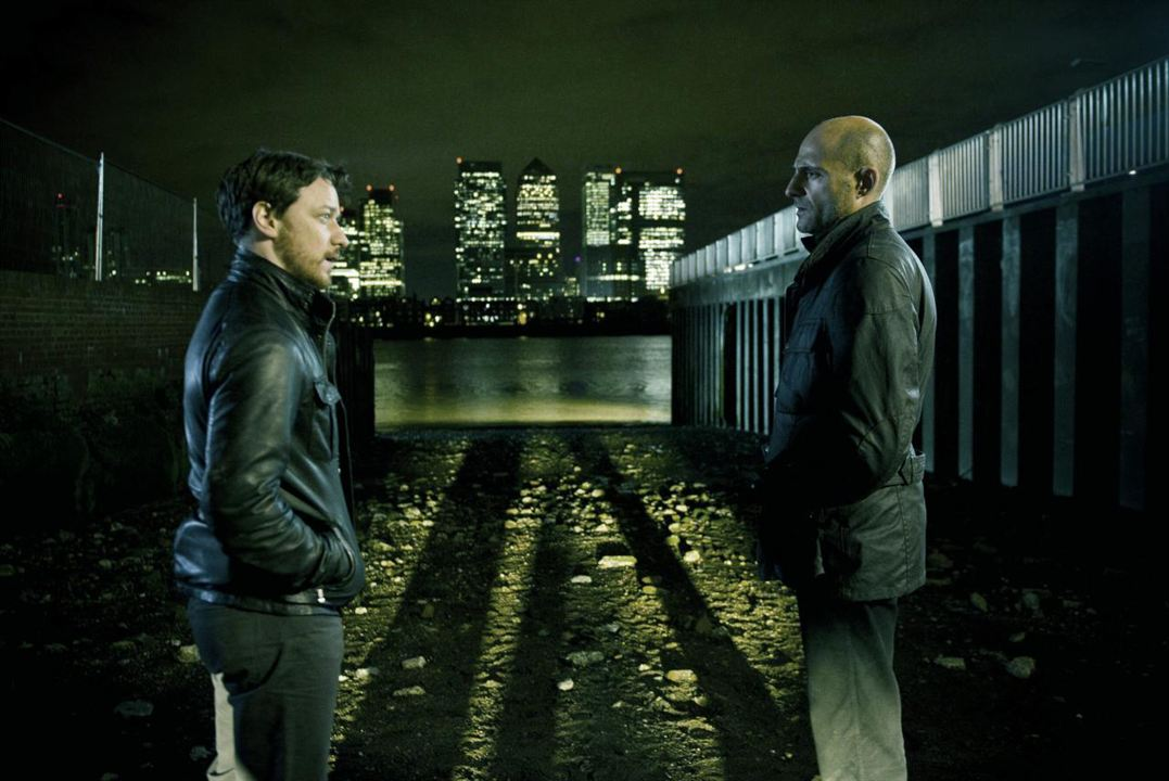 Welcome to the Punch : Photo James McAvoy, Mark Strong