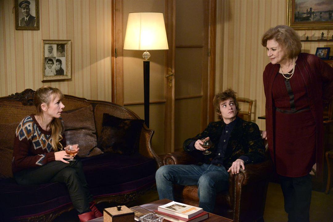 Photo Alexandre Tacchino, Claire Maurier, Julie Depardieu