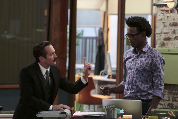 Photo Echo Kellum, Thomas Lennon