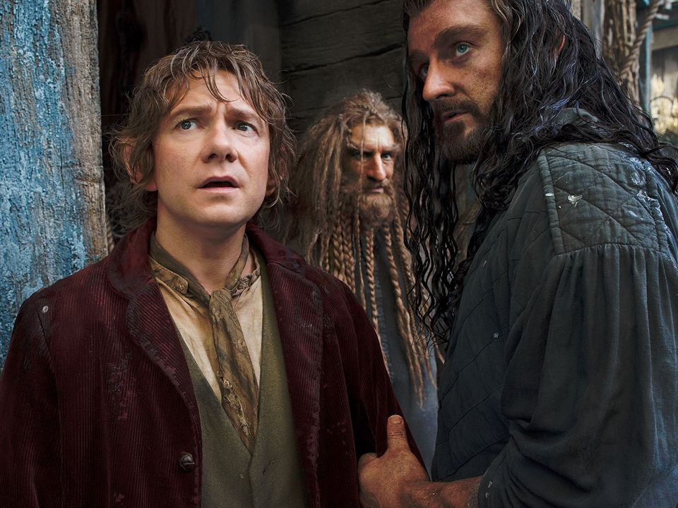 Le Hobbit : la Désolation de Smaug : Photo Martin Freeman, Richard Armitage