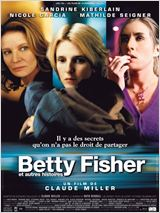 Betty Fisher et autres histoires