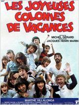 Les Joyeuses Colonies de vacances affiche