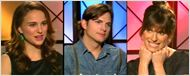 Natalie Portman &amp; Ashton Kutcher au micro ! 