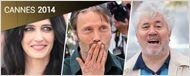 Cannes 2014 : Eva Green, Almodovar et les équipes des films du jour sous l'oeil des photographes !