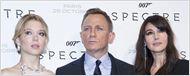 007 Spectre : Daniel Craig et Léa Seydoux au top de la séduction aux avant-premières française et londonienne