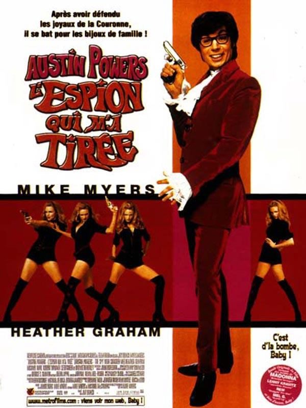Austin Powers - l'espion qui m'a tirée en streaming