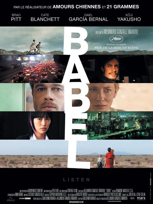 Babel (2006) affiche