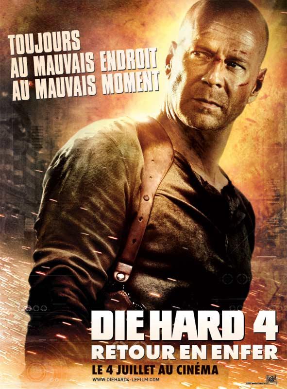 Download Die Hard 4 - retour en enfer FRENCH Poster