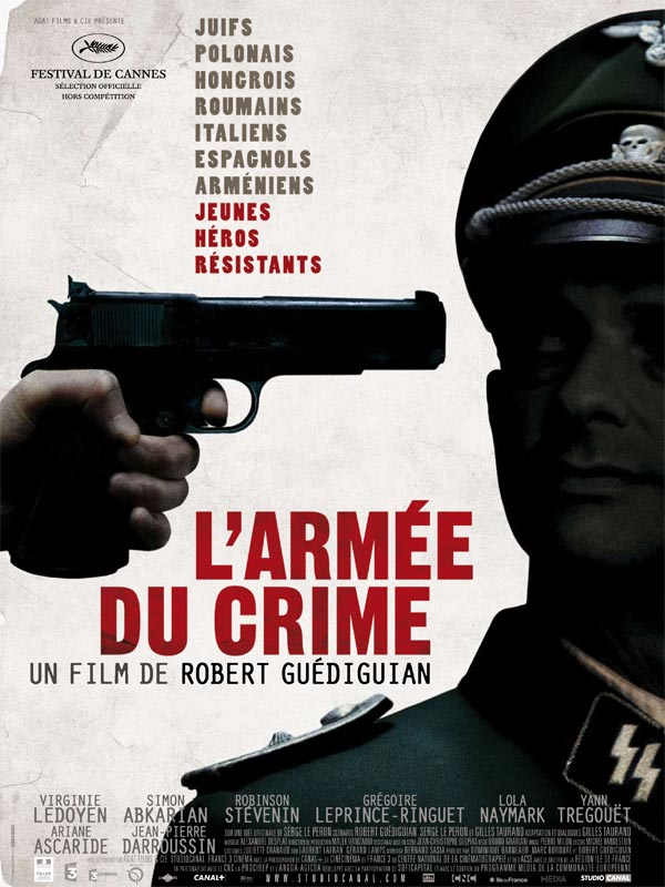 L'Armée du crime  FRENCH movie poster