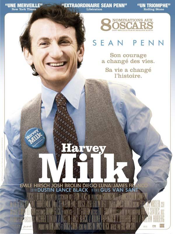 Harvey Milk FRENCH movie poster