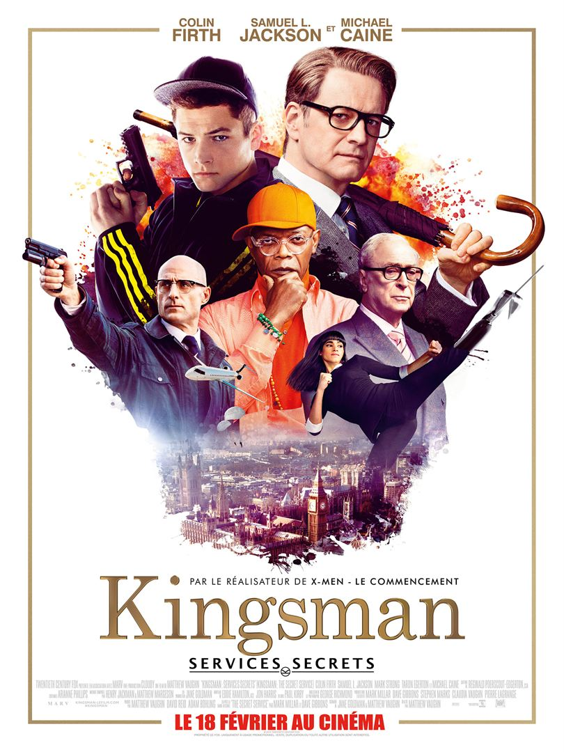 KINGSMAN : SERVICES SECRETS en streaming uptobox