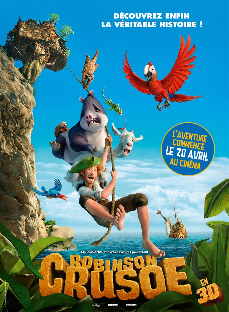 Robinson Crusoe FRENCH DVDRIP 2016