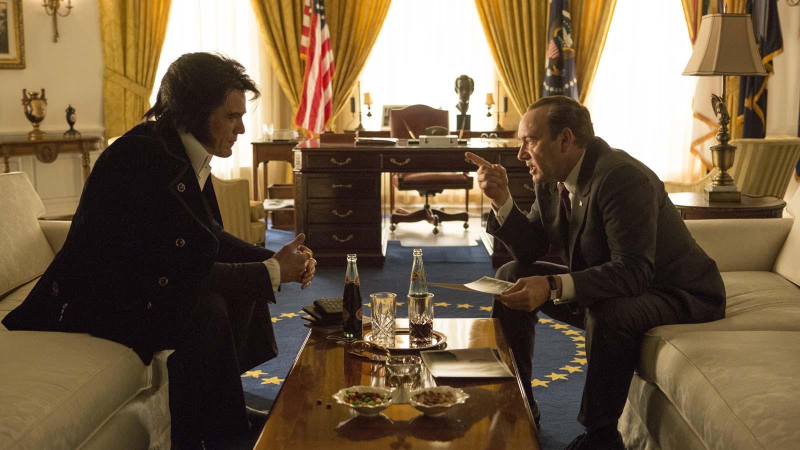 Elvis & Nixon - Michael Shannon et Kevin Spacey